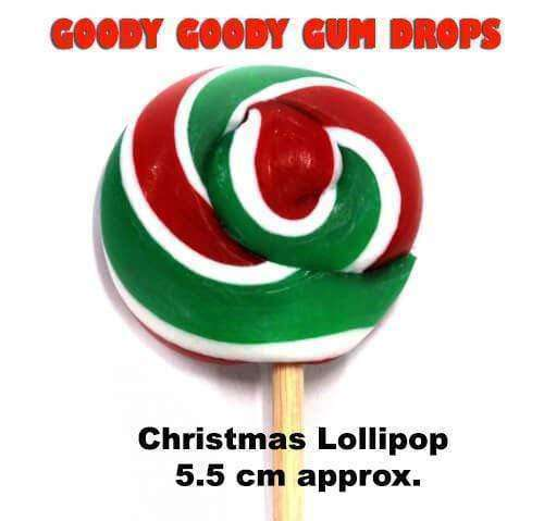 *Christmas Gourmet Lollipops Family Pack of 5 Lollipops - Goody Goody Gum Drops