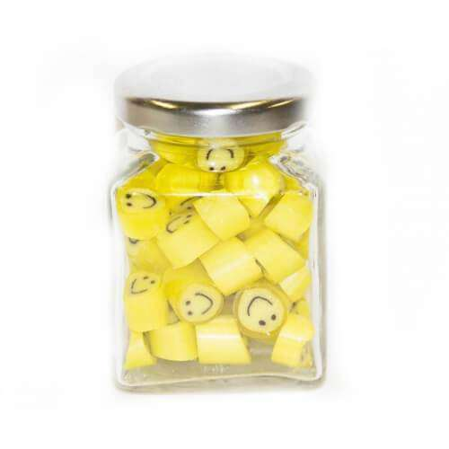 Country Rock SWEET PROMOTIONS Smile Gourmet Rock in 70 Gm Glass Jars (14 jars)