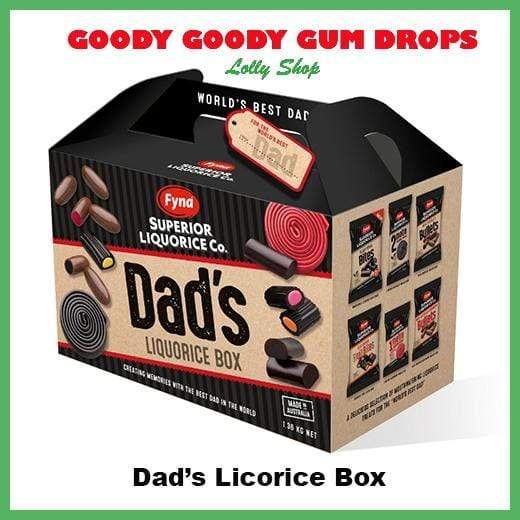 *Dad's Licorice Box Goody Goody Gum Drops