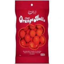 Darrell Lea Orange Balls 180 Gm - Goody Goody Gum Drops
