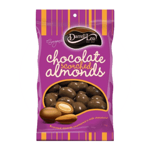 Darrell Lea Scorched Almonds 110 Gm (Box of 12 packs) - Goody Goody Gum Drops