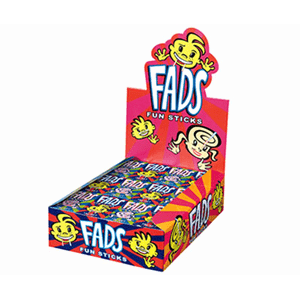 Fads Lolly Fun Sticks - 48 Packs - Goody Goody Gum Drops