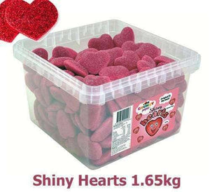 goo WEDDINGS - PARTIES > KID'S PARTIES Red Shiny Hearts (129 in a Tub)