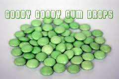Goody Goody Choc Drops Green 500 Gm - Goody Goody Gum Drops