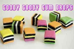 Licorice Allsorts 1Kg - Goody Goody Gum Drops