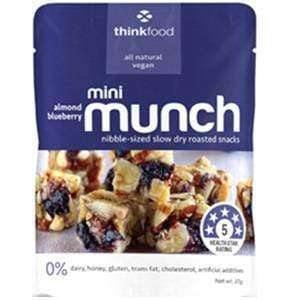 Goody Goody Gum Drops CONFECTIONERY MINI MUNCH ALMOND B/BERRY (14 x 20 Gm)