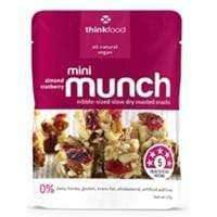 Goody Goody Gum Drops CONFECTIONERY MINI MUNCH ALMOND CRANBERRY (14 x 20 Gm)