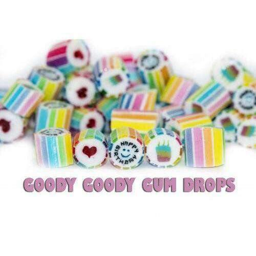 Happy Birthday Gourmet Rock 1 Kg - Goody Goody Gum Drops