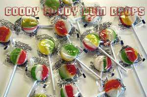Rainbow Pops (Bag of 200) - Goody Goody Gum Drops
