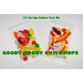 Cadbury Party Mix 10,000 x 100 Gm Bags - Goody Goody Gum Drops