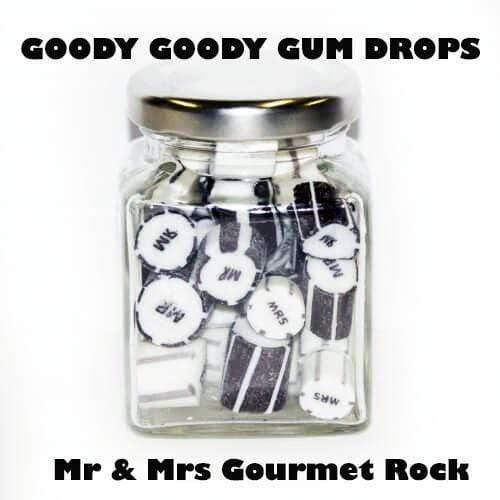 Mr & Mrs Gourmet Rock in 70 Gm Glass Jars (14 jars) |