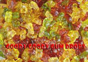 Gummi Bears 60 Gm Gluten Free with custom label (heat-sealed) - Goody Goody Gum Drops