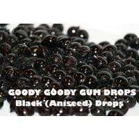 Black Candy Drops 1 Kg - Goody Goody Gum Drops