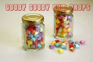 Dolly Mix (Bo Peeps) Glass Jars (10 x Jars) - Goody Goody Gum Drops