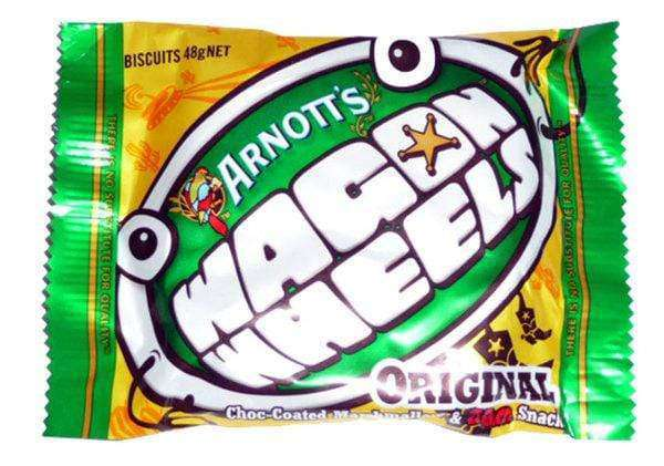 Wagon Wheels (16 x 48 Gm) - Goody Goody Gum Drops