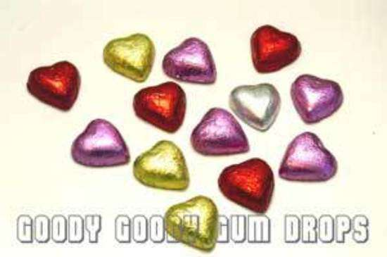 Chocolate Hearts (Approx 100-125) - Goody Goody Gum Drops