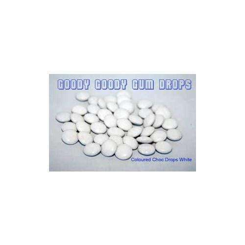 Goody Goody Choc Drops White 500 Gm or 1kg - Goody Goody Gum Drops