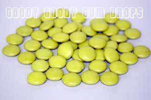 Goody Goody Choc Drops Yellow 1kg - Goody Goody Gum Drops