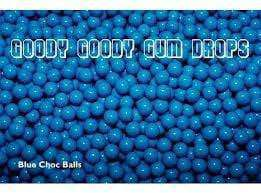 Fruit Choc Balls BLUE 1 Kg - Goody Goody Gum Drops