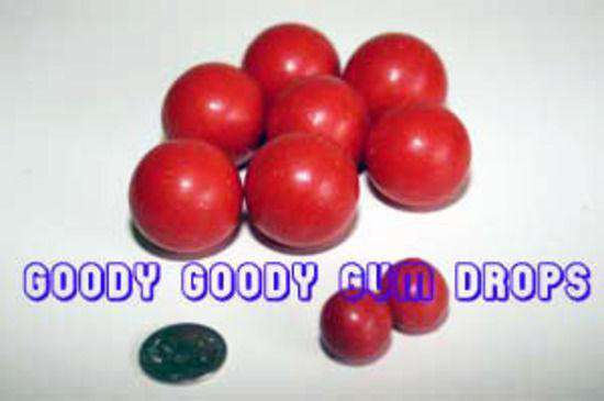 GIANT Red Choc Balls 1 Kg - Goody Goody Gum Drops