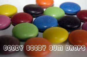 LARGE Choc Drops 1 Kg Assorted - Goody Goody Gum Drops
