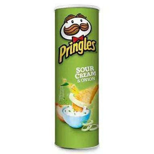 Goody Goody Gumdrops Pty Ltd CONFECTIONERY > SNACKS Pringles 134 Gm Sour Cream & Onions