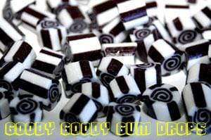 Black & White Gourmet Swirl Rock 1Kg - Goody Goody Gum Drops