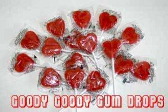 Little RED HEARTS Bulk pack of approx 200 - Goody Goody Gum Drops
