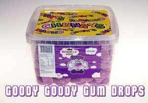 Goody Goody Gumdrops Pty Ltd GLUTEN FREE Purple Chunky Grape Clouds 1.75 Kg Tub