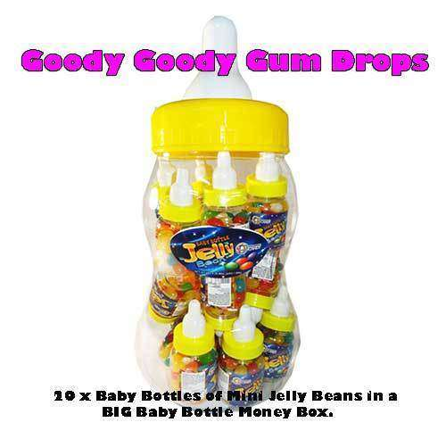 Baby Bottle Jelly Beans - Goody Goody Gum Drops