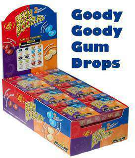 BEANBOOZLED Display Box of 24 Packs - Goody Goody Gum Drops