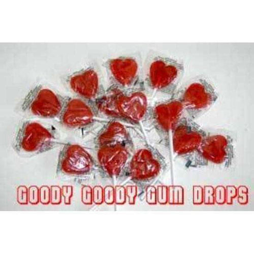 Little RED HEARTS pack of 50 - Goody Goody Gum Drops
