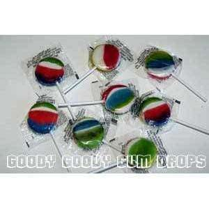 Goody Goody Gumdrops Pty Ltd Other Rainbow Pops Large (Bag of 25)