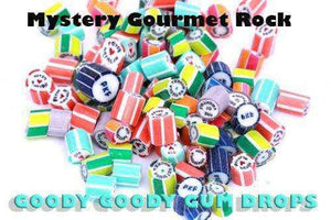 Budget Gourmet Rock Candy Mystery Mix 1 Kg - Goody Goody Gum Drops