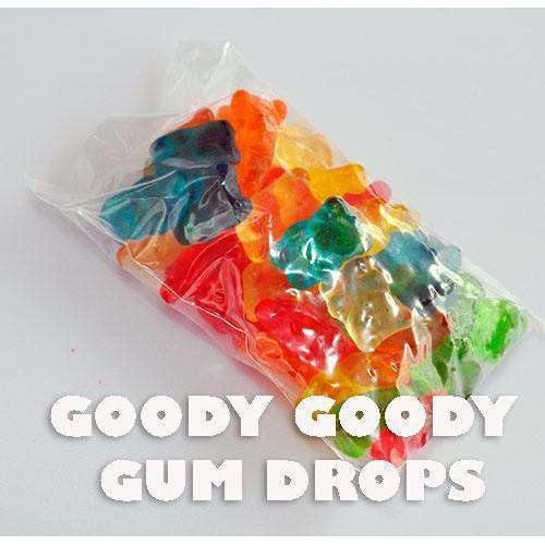 Gummi Bears Lolly Bags 60 Gm Gluten Free (pack of 10 bags) - Goody Goody Gum Drops