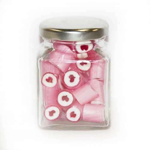 Heart Gourmet Rock in 70 Gm Glass Jars (14 jars) |