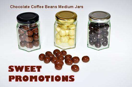 Chocolate covered Coffee Beans (10 Medium Jars) - Goody Goody Gum Drops