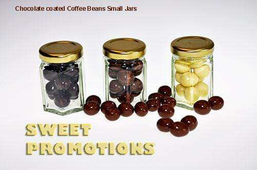 Chocolate covered Coffee Beans (10 Small Jars) |