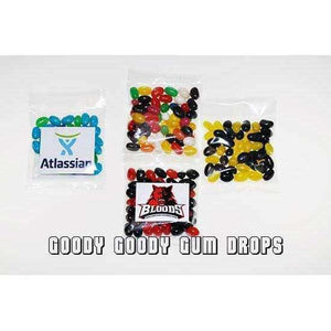 Goody Goody Gumdrops Pty Ltd SWEET PROMOTIONS Mini Jelly Beans 5000 x 50 Gm Bags