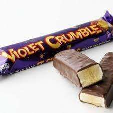 Goody Goody Gumdrops Pty Ltd Violet Crumble Bars 42 x 50 Gm