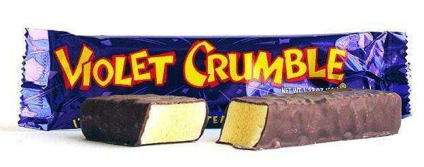Violet Crumble Bars 42 x 50 Gm - Goody Goody Gum Drops