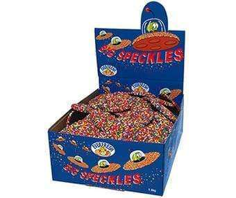 Big Milk Chocolate Speckles  (Box of 100) - Goody Goody Gumdrops