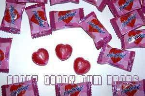 HeartBeats - pack of 100 - Goody Goody Gum Drops