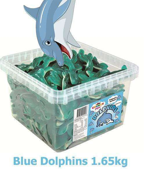 Dolphins (300 in a Tub) - Goody Goody Gum Drops