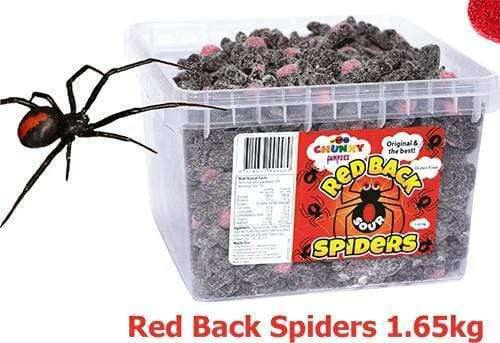 Red Back Spiders (235 in a Tub) |