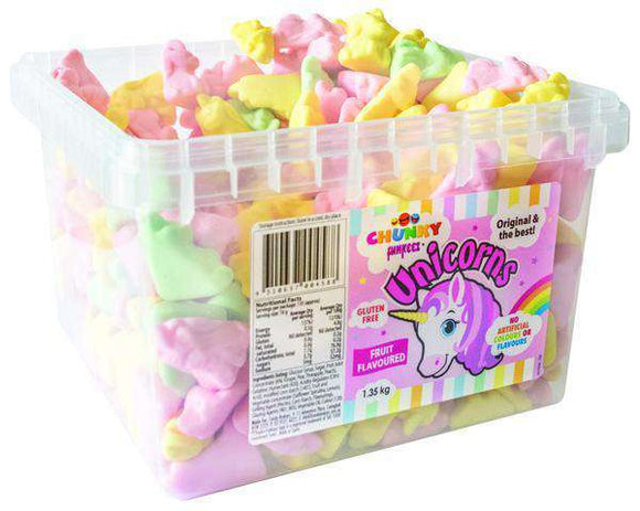 Unicorns (300 in a Tub) - Goody Goody Gum Drops