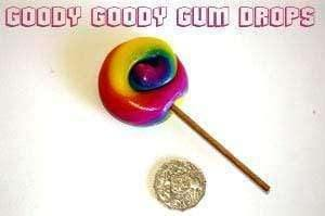 Goody Goody Gumdrops Pty Ltd WEDDINGS - PARTIES Rainbow 5cm Gourmet Lollipops (Minimum 25)