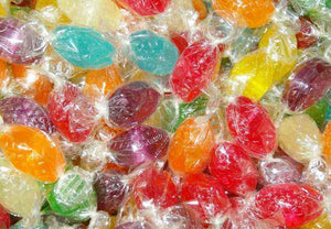 Fruity Drops - Assorted (Cello Wrapped) 1Kg - Goody Goody Gum Drops