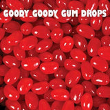 Goody Goody Mini Red Jelly Beans (Strawberry) - Goody Goody Gum Drops