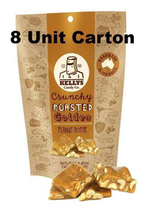 KELLY'S PEANUT BRITTLE - 8 x 200 Gm POUCHES - Goody Goody Gum Drops